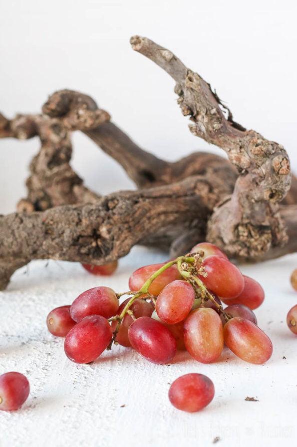 druiven focaccia met gekarameliseerde ui