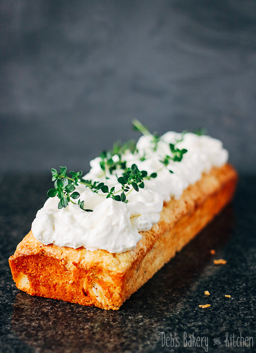 Citroen mascarpone cake
