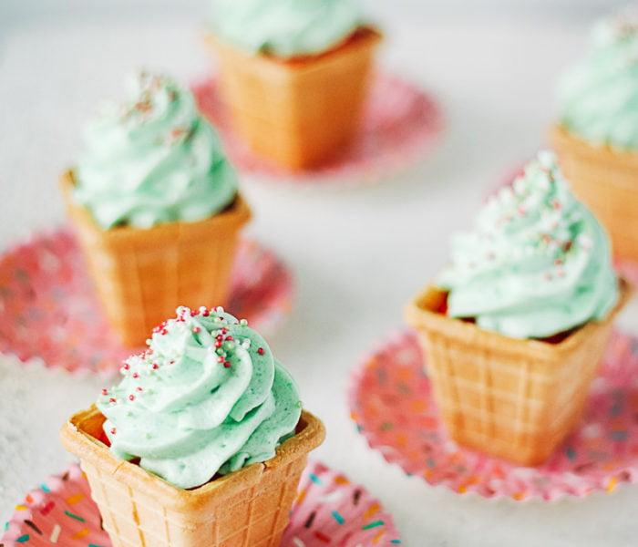 Cupcake ijsjes
