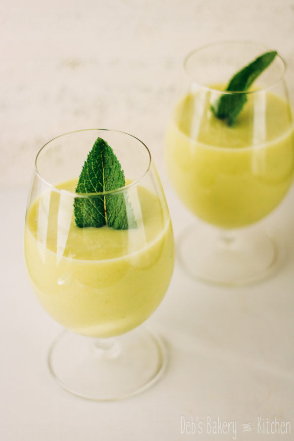 zomerse ananas avocado smoothie