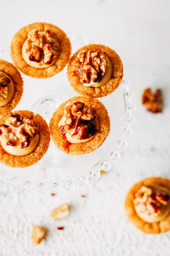 cookie cups met kaneelroom