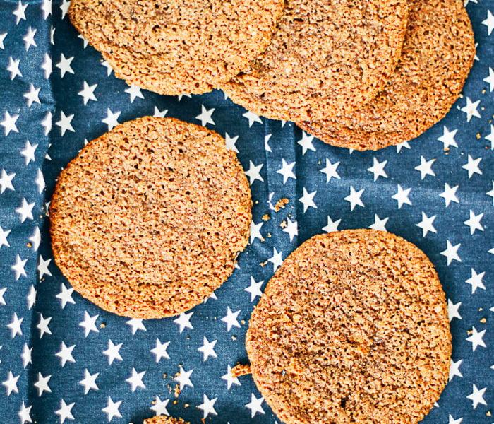 Glutenvrije amandelkoekjes