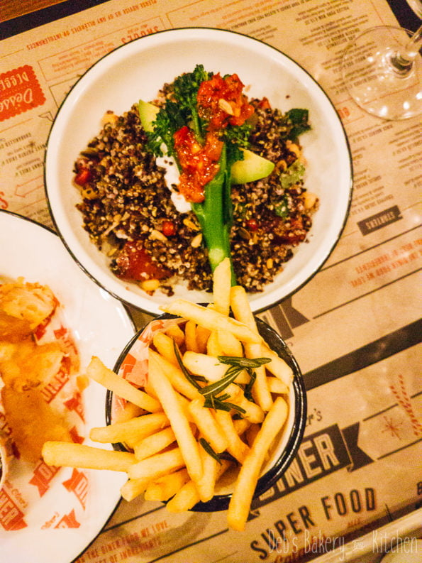 Review van Jamie Oliver's Diner Rotterdam