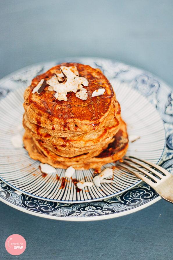 glutenvrije bananen pancakes