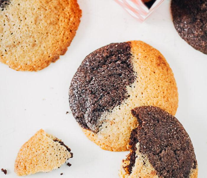 Chocolade vanille koeken