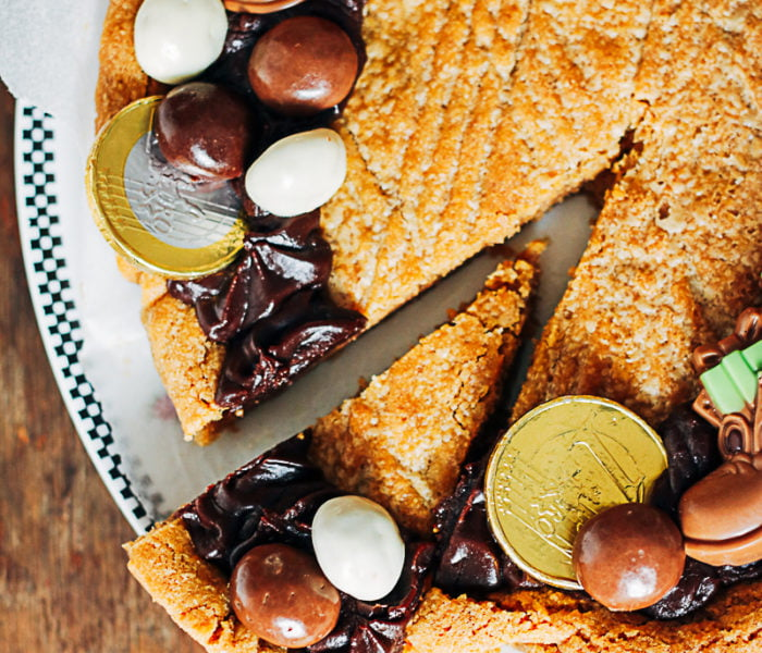 Speculoos cookie cake