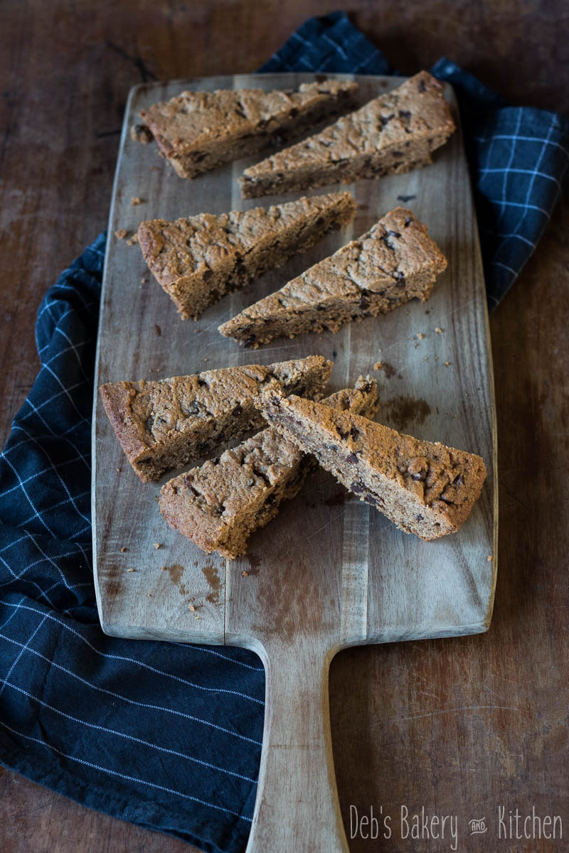 Pindakaas cookie cake met chocolade