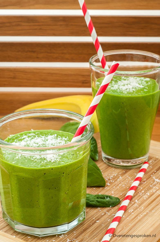 Groene-smoothie over eten gesproken