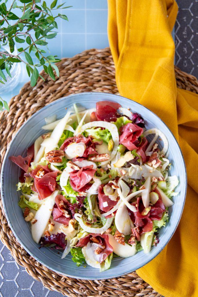 salade met venkel en bresaola