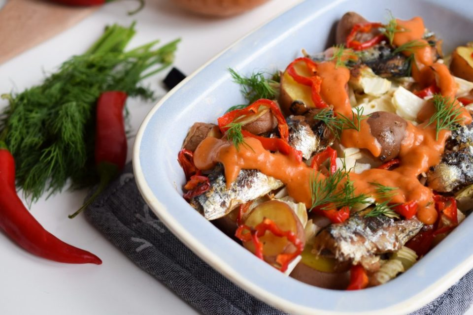 sardines-met-venkel-en-rode-pepersaus