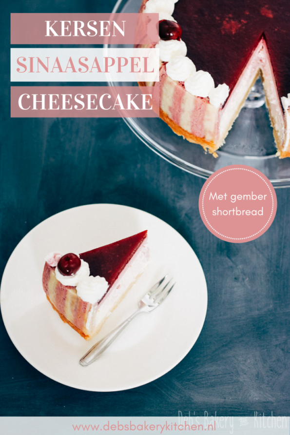 kersen sinaasappel cheesecake