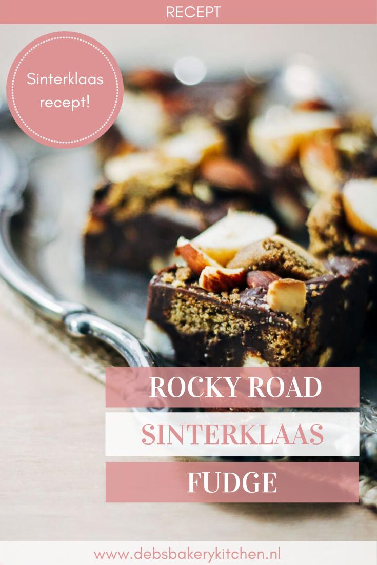 rocky road sinterklaas fudge