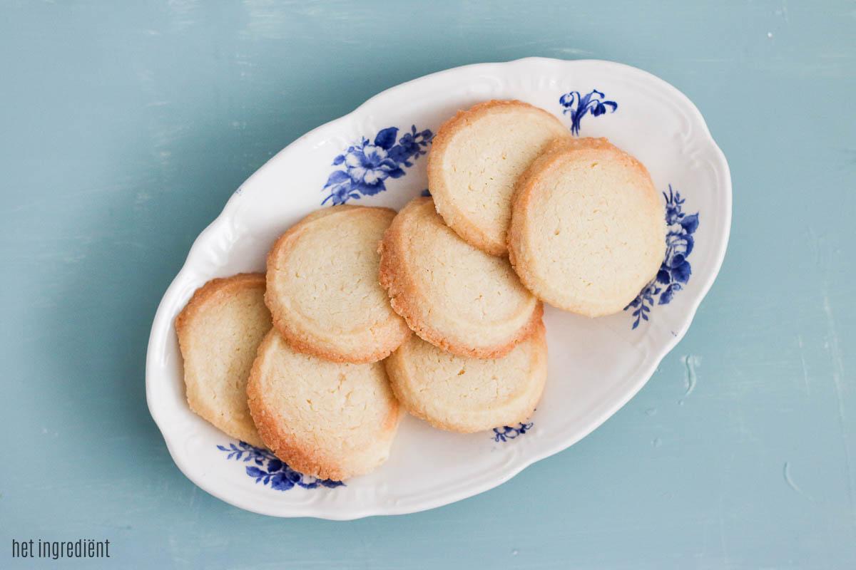 Gember shortbread koekjes