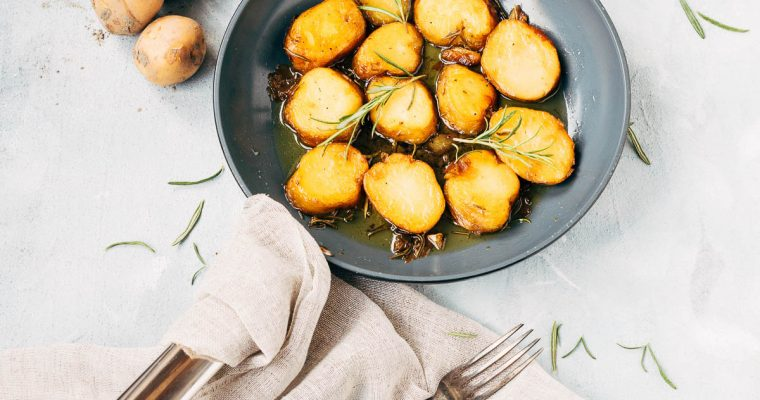 Fondant aardappels met rozemarijn