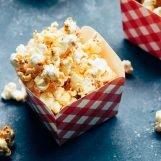 gezouten karamel popcorn