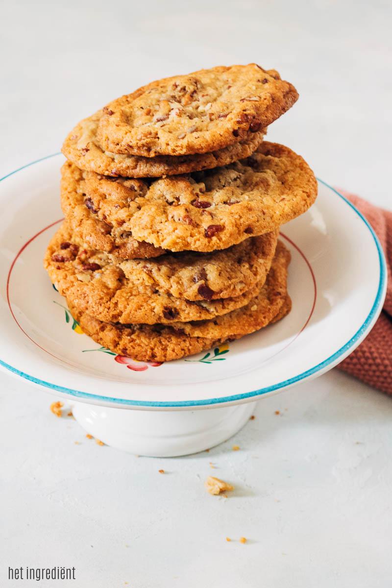 pecan karamel koeken met spek