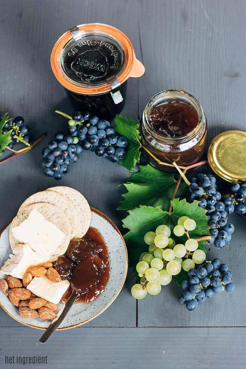 zelf druivenjam maken