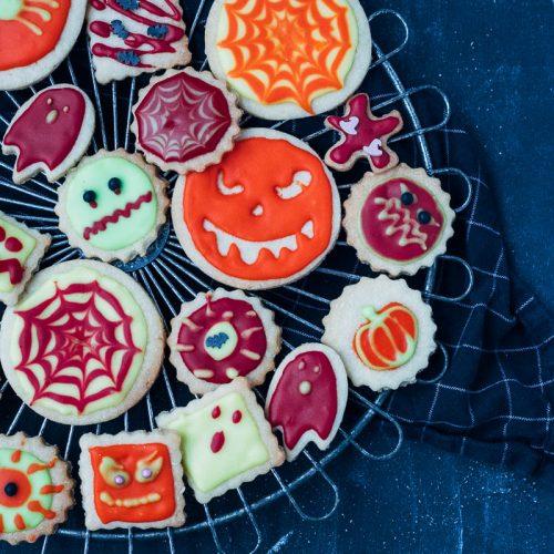 halloween koekjes bakken en versieren