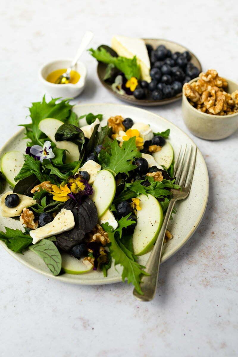 3 zomerse salades met fruit